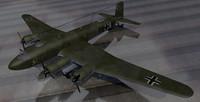 fw-200c-1 bomber 3d 3ds