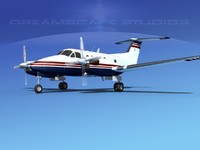 3ds propellers beechcraft king air