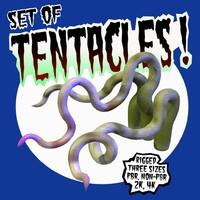 fbx set tentacles rigged