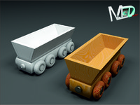 max wood train wagon t2v5
