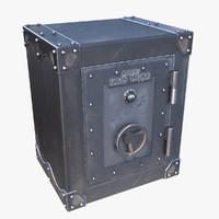3d rhino iron work safe model