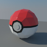 pokemon ball obj