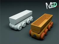 wood train wagon t2v7 max