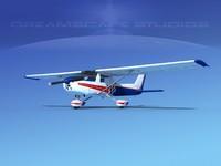 cessna c150 aerobat 3d dxf