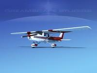 3d cessna c150 aerobat