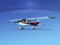 cessna c150 aerobat 3d dwg