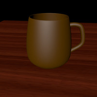 3d beer coffee cup