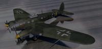 heinkel he-111h-3 bomber 3d 3ds
