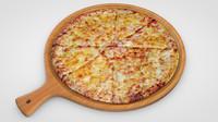 pizza c4d