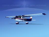 3d cessna c150 aerobat model