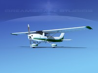 cessna c152 commuter 3d model