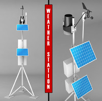 3d max weather meteo station