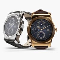 lg watch urbane w150 3d model