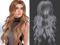 3d mesh hair