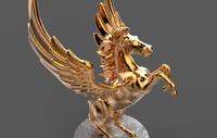 statue pegasus