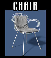 chair indoors outdoors 3d model