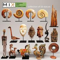 max figurines statues set design