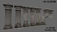 pillar 3d model