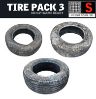 3d obj tire pack 3