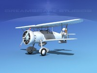 curtiss fighter goshawk 3d 3ds