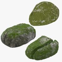 obj mossy rocks