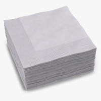 max cocktail napkins white