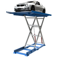 scissor lift car parking 3d 3ds