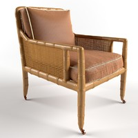3d bamboo armchair