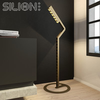 modern metal floor lamp 3d model
