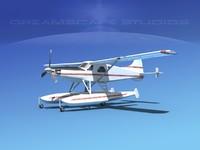 dehavilland beaver turboprop 3ds