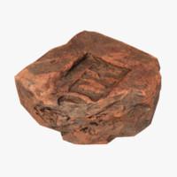 brickwork debris scan 3d model