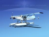 3d dehavilland beaver turboprop
