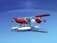 3d model dehavilland beaver turboprop