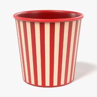 paper cup 3d 3ds