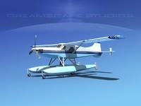 dehavilland beaver turboprop 3d 3ds