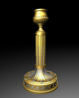Neoclassical french candlestick