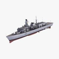 3d type23 frigate duke class