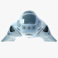 futuristic spaceship ma