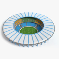 3d model maracana stadium