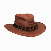 3d polygonal hat
