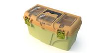 3d model plastic box tool