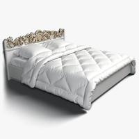 fretwork bed obj