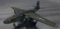 3d douglas a-20g havoc bomber
