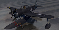 curtiss sc-1 seahawk 3d 3ds