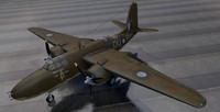douglas havoc mk-2 bomber 3d model