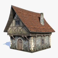 medieval fantasy house 3d max