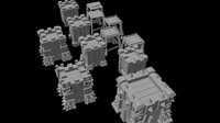 archer towers obj