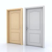 door room 3d c4d