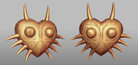 zelda majoras mask sculpt 3ds