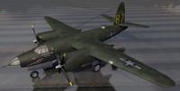 3ds martin b-26c marauder bomber